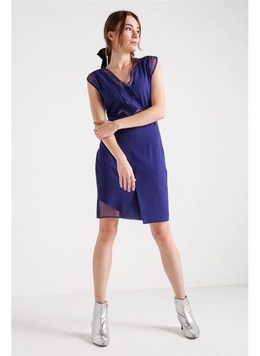 Askılı Şifon Elbise-Love'n Fashion Paris